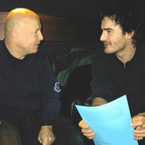 Avec Jean-François Delfour en 2003