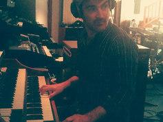 """Enregistrement """"Le feu à Babylone"""", Sphère studio 2016. J'adore l'orgue Hammond, ça sonne tout de suite, même quand tu joues avec deux doigts."""