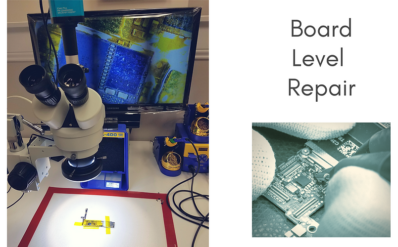Board Level Repair - In-house Motherboard Micro-soldering - Soldering - iPhone Android Cell Phone Smartphone Samsung Motorola HTC