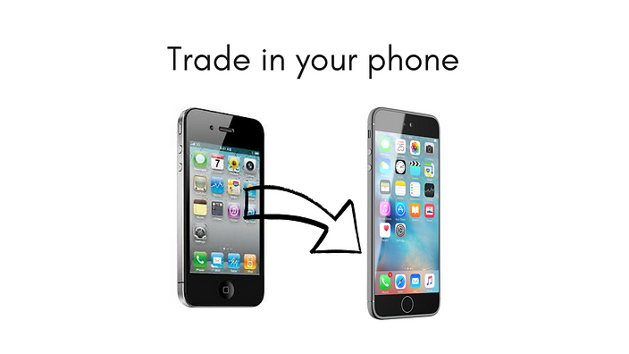 Trade in your phone tablet computer