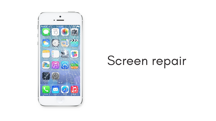 Cracked phone screen repair - iPhone - Android - Samsung