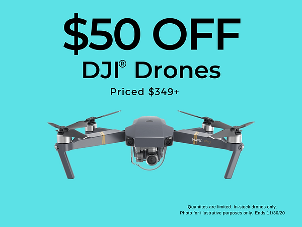 $50 off DJI Drones. Source1Phones is a DJI authorized retailer for Charlotte, NC and surrounding areas