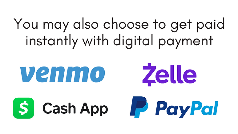 Sell your iPhone and get paid instantly via Cash App, Venmo, Zelle, or PayPal!
