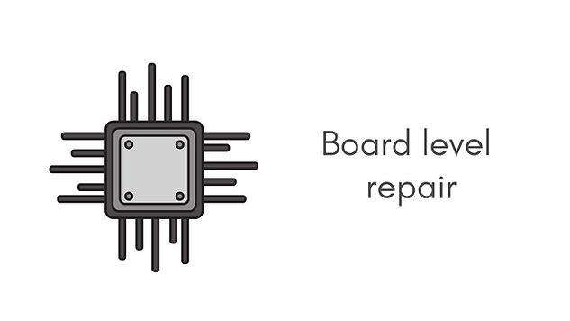 Board level repair - Motheboad micro-soldering - soldering repairs