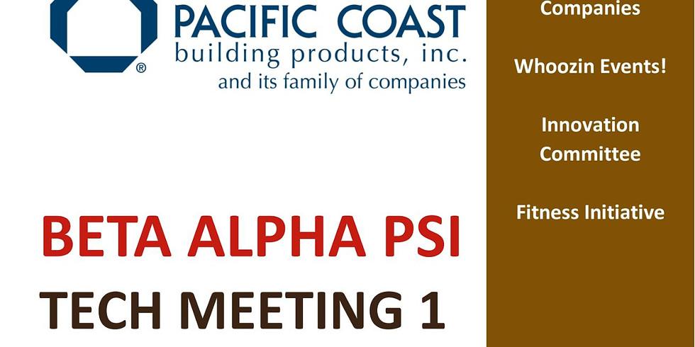Tech Meeting #1