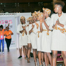 Zaris showcases at Lagos International Fashion Fair 2017