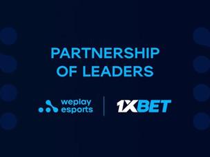 WePlay Esports 및 1xBet 리더들의 파트너십