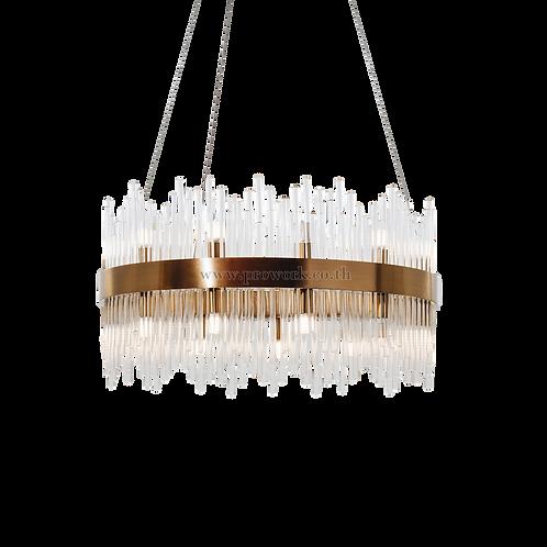 โคมไฟคริสตัล,Crystal lamp, โคมไฟหรูหรา, โคมไฟแต่งบ้าน , โคมไฟกิ่ง, โคมไฟตกแต่ง, Chandelier P108, Lamp, chandelier