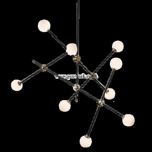 โคมไฟแชนเดอเรีย, โคมไฟห้อย, โคมไฟเพดาน, โคมไฟ, โคมไฟโมเดิร์น , โคมไฟกิ่ง, โคมไฟตกแต่ง, Chandelier P124, Lamp, Pendant lamp