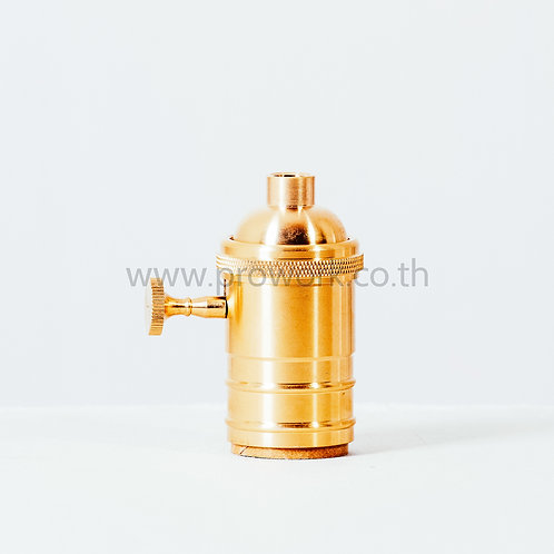 Socket Gold with Switch