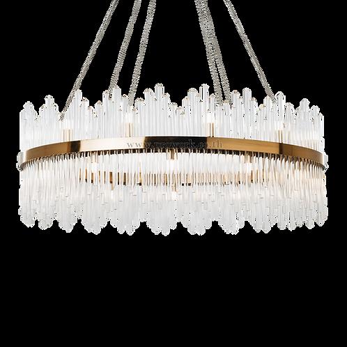 โคมไฟคริสตัล,Crystal lamp, โคมไฟหรูหรา, โคมไฟแต่งบ้าน , โคมไฟกิ่ง, โคมไฟตกแต่ง, Chandelier P109, Lamp, chandelier