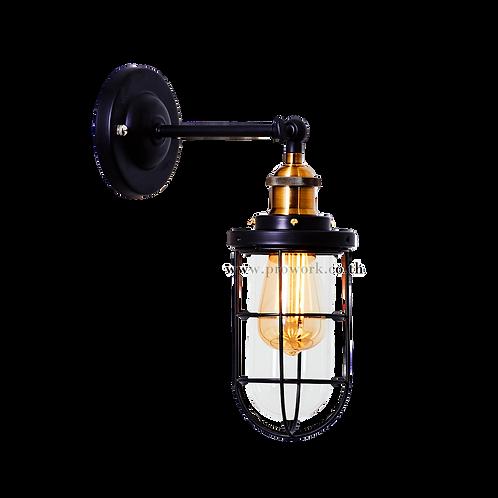 โคมไฟผนัง, โคมไฟ, โคมไฟลอฟท์, โคมไฟโมเดิร์น , โคมไฟกิ่ง, โคมไฟตกแต่ง, Wall lamp B140, Lamp, light