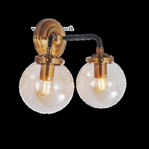 โคมไฟผนัง, โคมไฟ, โคมไฟโมเดิร์น , โคมไฟกิ่ง, โคมไฟตกแต่ง, Wall lamp B172, Lamp, light
