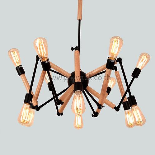 โคมไฟลอฟท์เเละวินเทจ, โคมไฟห้อย, โคมไฟเพดาน, โคมไฟ, โคมไฟโมเดิร์น , โคมไฟกิ่ง, โคมไฟตกแต่ง, Loft P63, Lamp, Pendant lamp