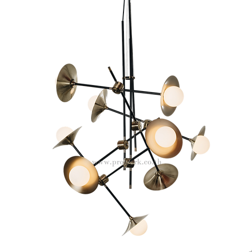 โคมไฟแชนเดอเรีย, โคมไฟห้อย, โคมไฟเพดาน, โคมไฟ, โคมไฟโมเดิร์น , โคมไฟกิ่ง, โคมไฟตกแต่ง, Chandelier P123, Lamp, Pendant lamp