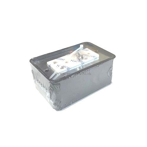 FS BOX แบบยางพร้อมปลั๊ก 2X4,ร้านไฟฟ้า,อุปกรณ์ไฟฟ้า