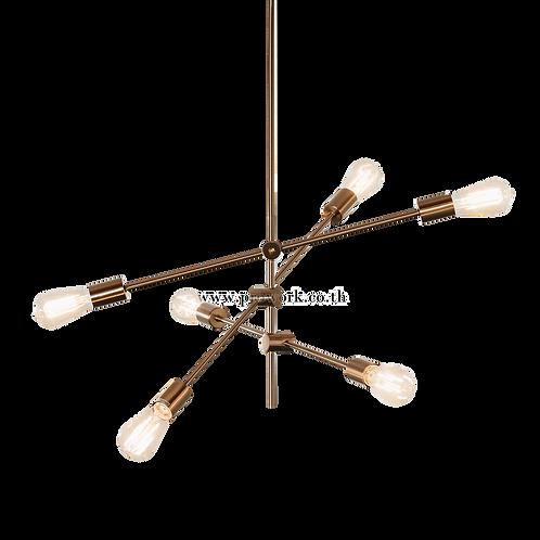 โคมไฟแชนเดอเรีย, โคมไฟห้อย, โคมไฟเพดาน, โคมไฟ, โคมไฟโมเดิร์น , โคมไฟกิ่ง, โคมไฟตกแต่ง, Chandelier P117, Lamp, Pendant lamp