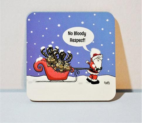 'Christmas: Reindeer' Coaster