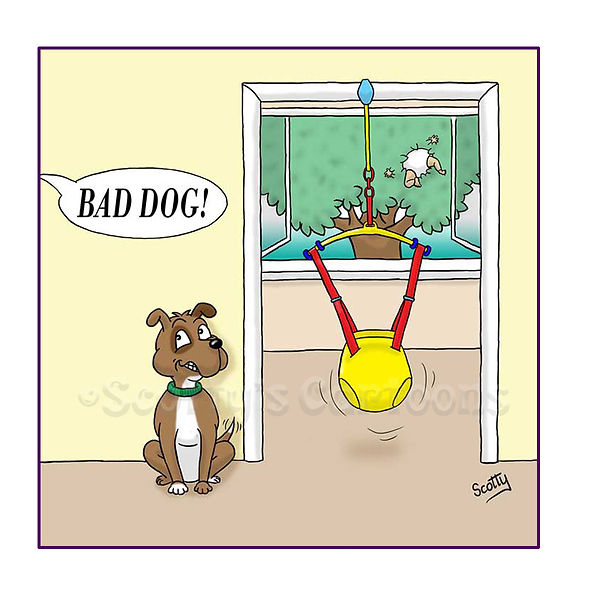 Dog baby cartoon