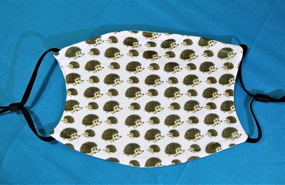 Hedgehogs Face Mask