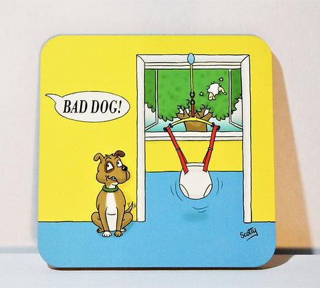 'Dog's Life: Bad Dog' Coaster