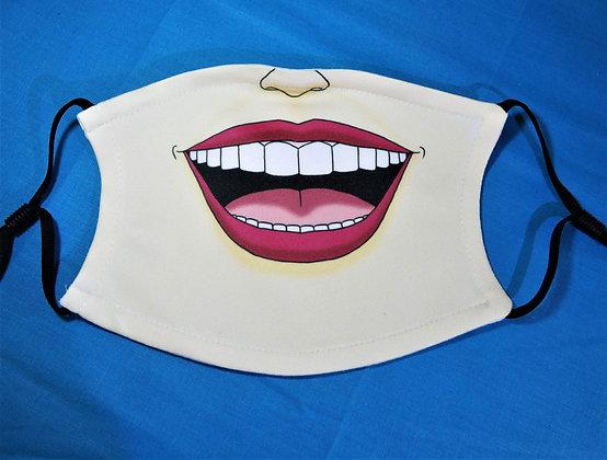 Laugh Face Mask