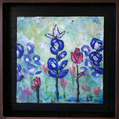 Texas Bluebonnets and Paintbrushes Original