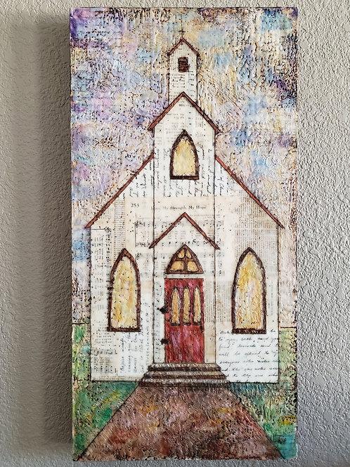 """Jesus, my Strength, my Hope"" original artwork"