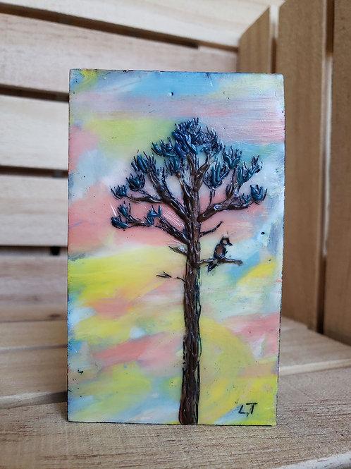 Content mini painting