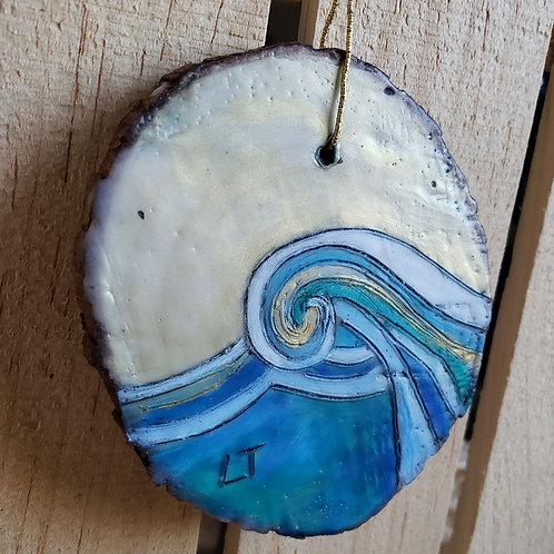 Waves Ornament 3