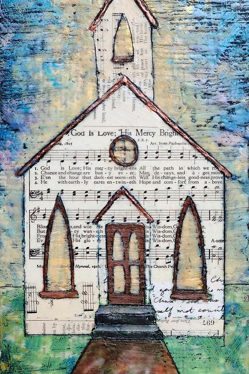 His Mercy Brightens Church Art