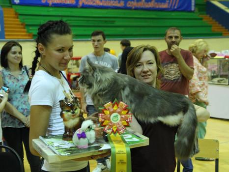 """Belaja Lisa"" KZ-0235 Казахстан"