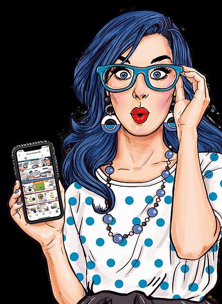 SBox_SmartPhone_Feedback_blue_girl_gespi