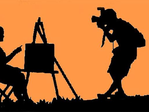 Il rapporto tra pittura e fotografia