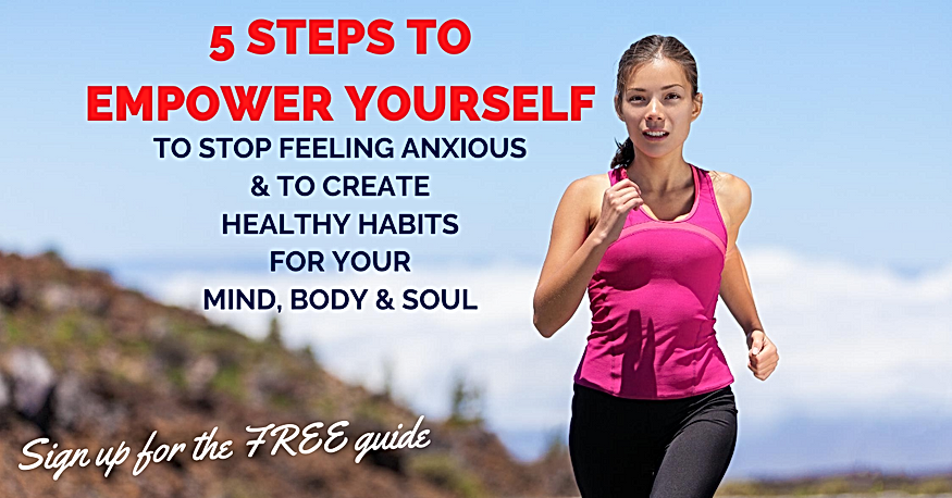 5 steps to empower yourself TO STOP FEEL