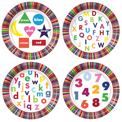 Educational Paper Plates