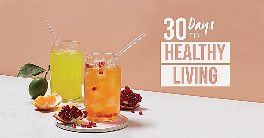 30 Days to Healthy Living Cover Photo gr