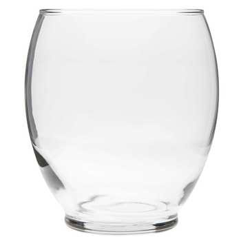Modern Clear Glass Vase