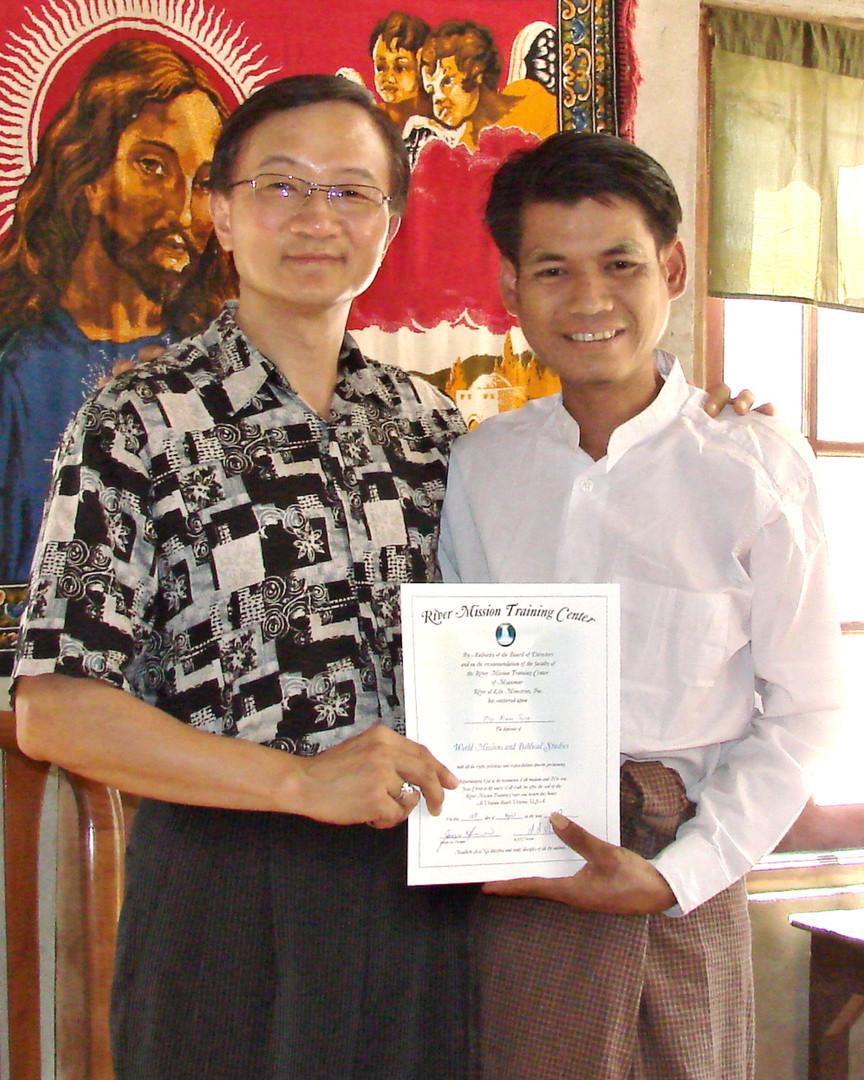 RMTC Graduate in Yangon
