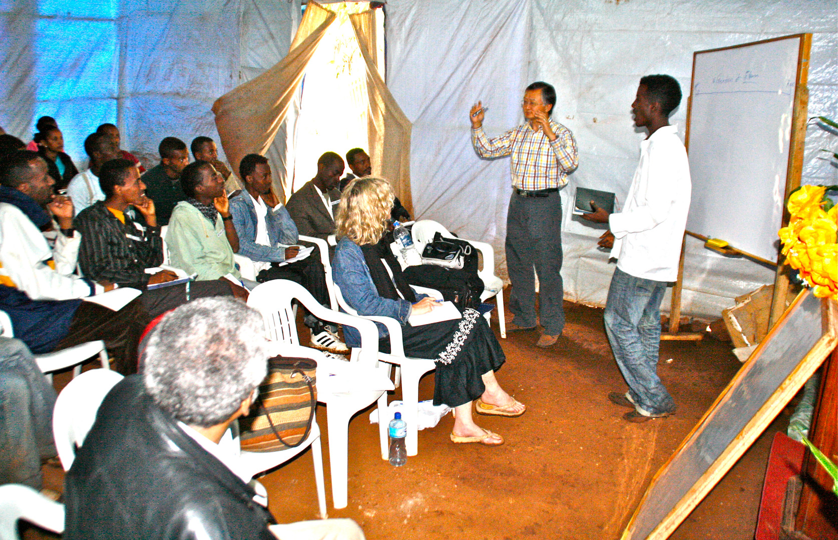 Training young leaders in Jimma, Ethiopia