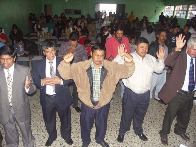 Impartation prayers for the pastors