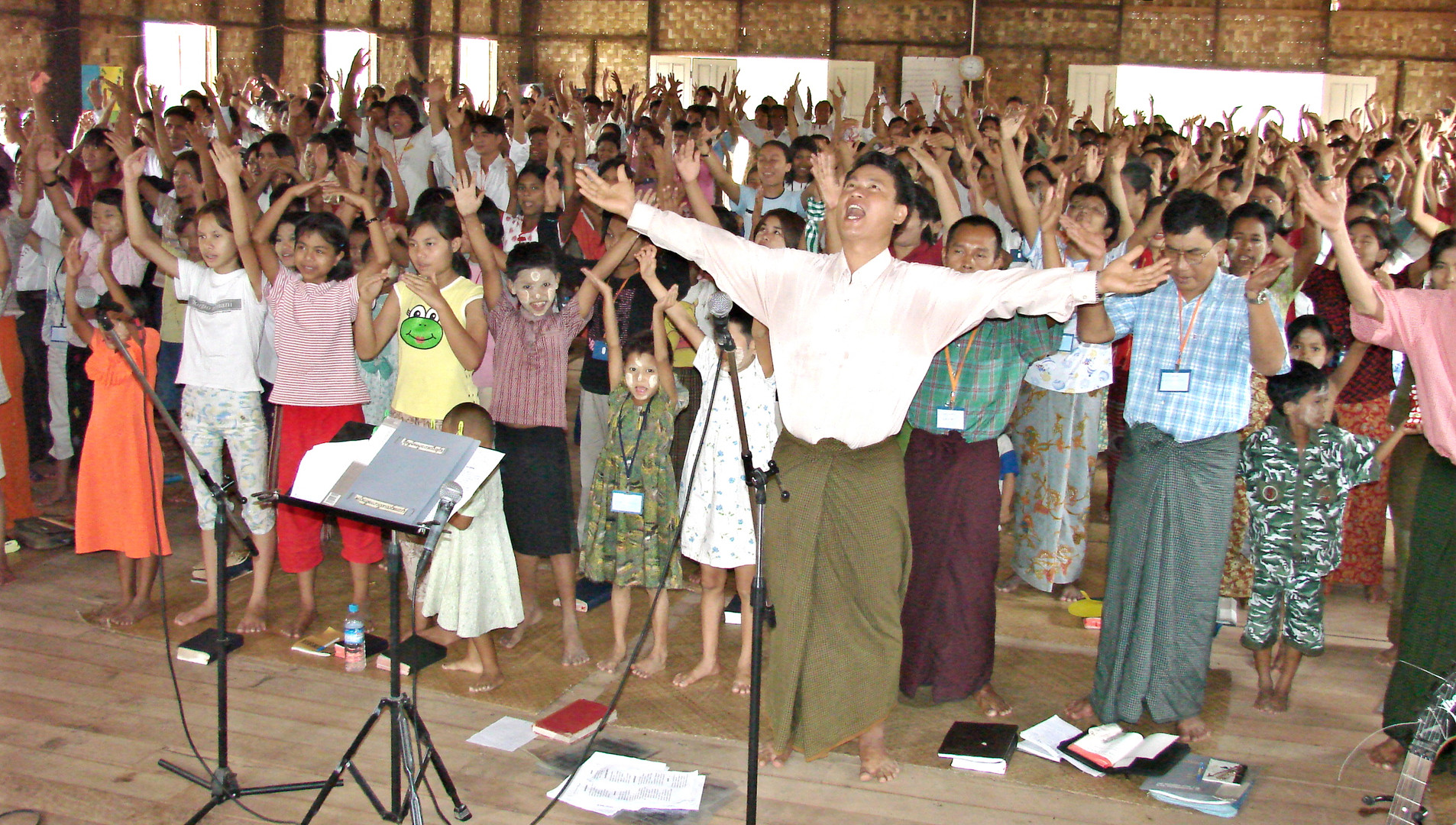 Ministering to young leaders in Yangon