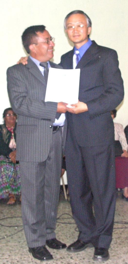 Pastor Gregorio, the RMTC Director of Guatemala