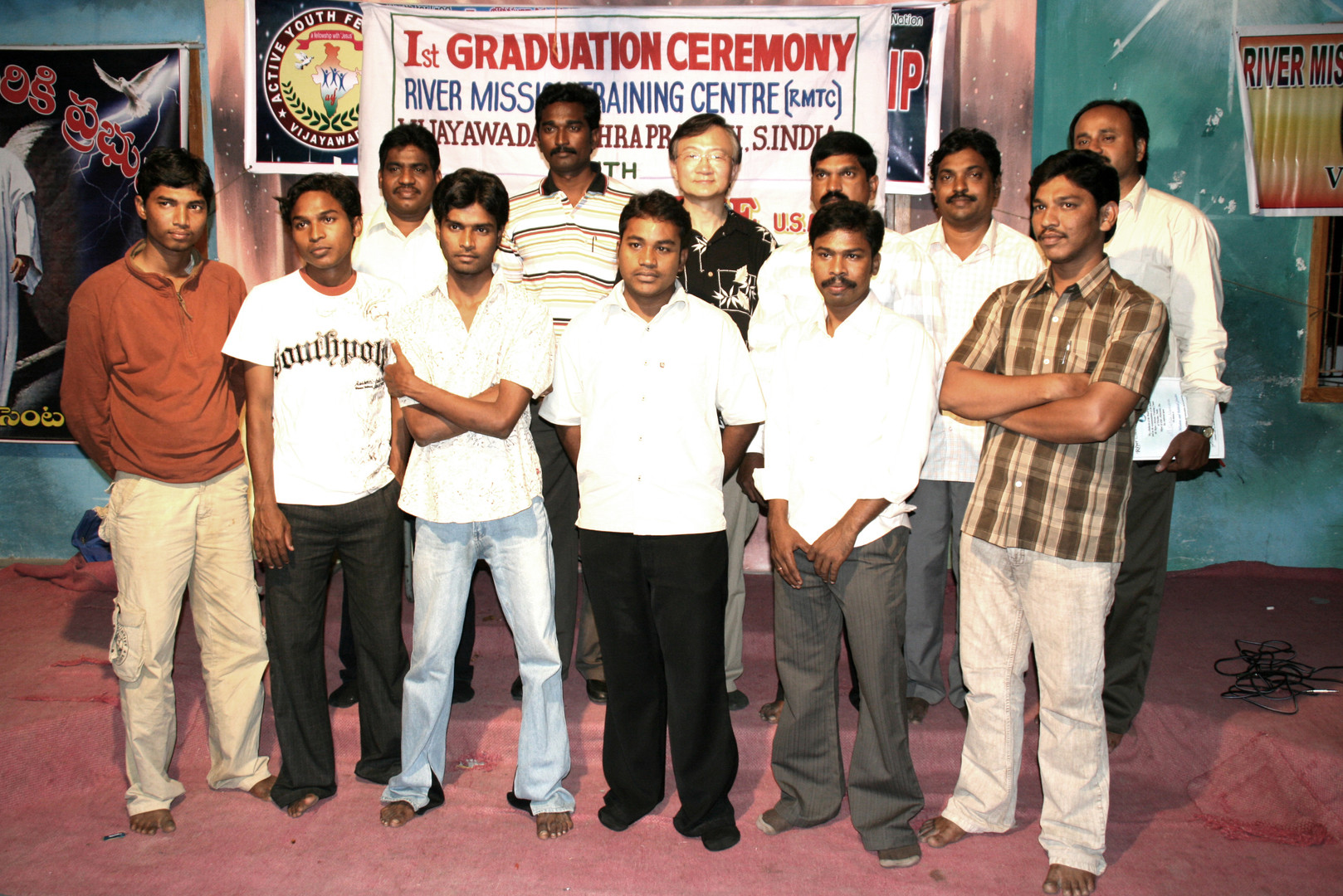RMTC graduates in India