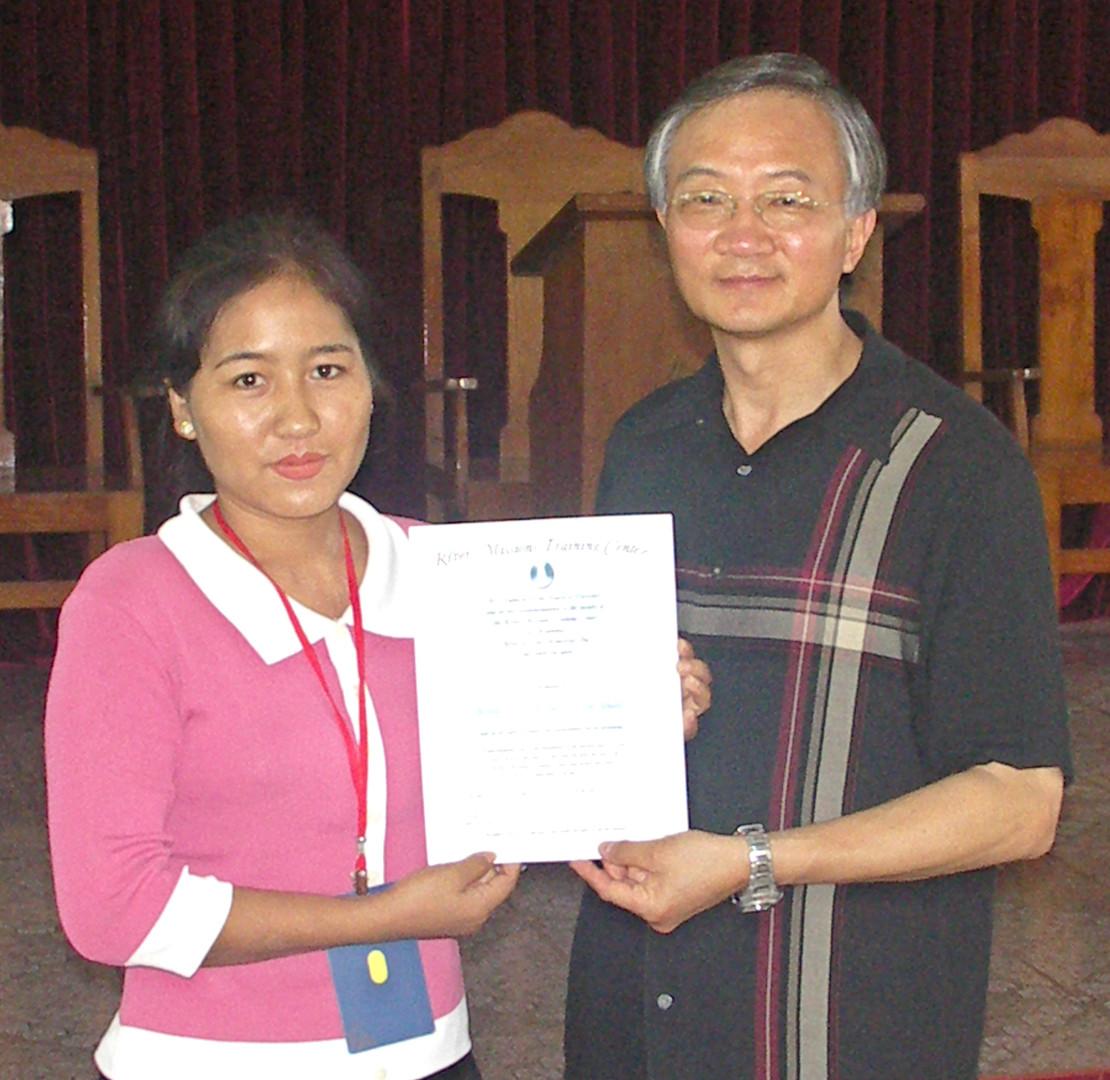 RMTC Graduate in Myanmar