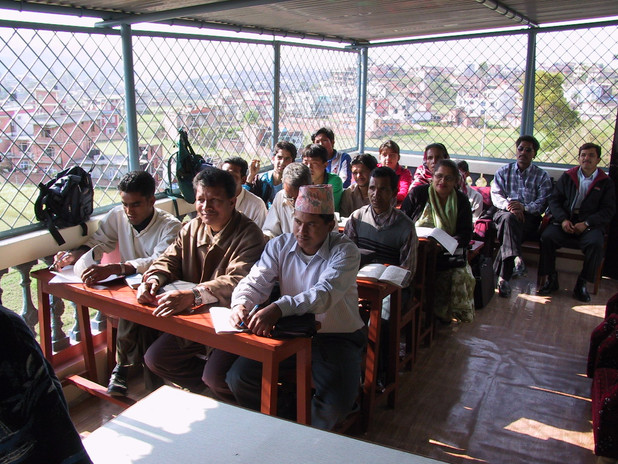 The RMTC Class in Kathmandu