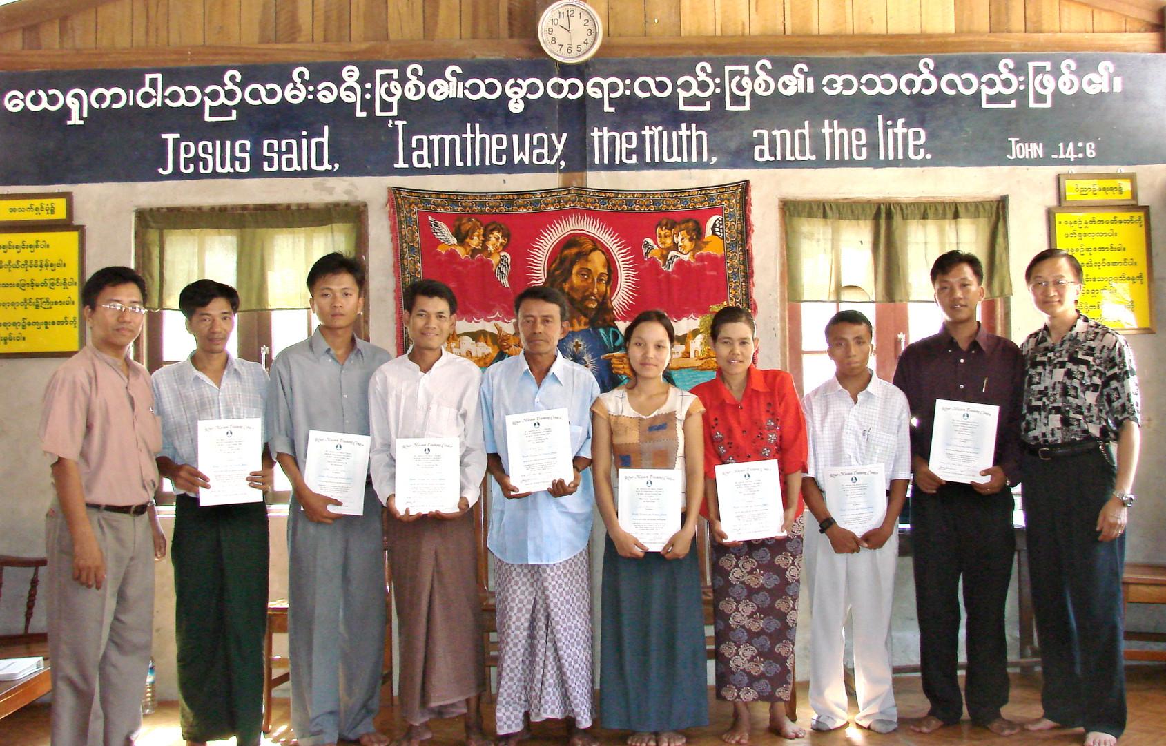 RMTC Graduation in Yangon