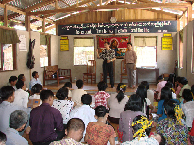 Ministering at an indigenous church