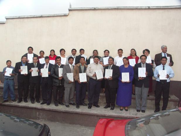 RMTC Graduates in Patzicia, Guatemala