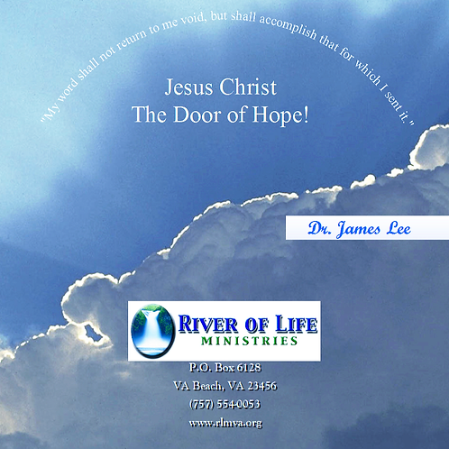 Jesus Christ: The Door of Hope - Single Disc Sermon